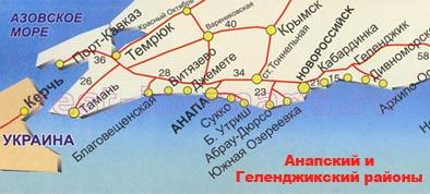 анапа карта 2