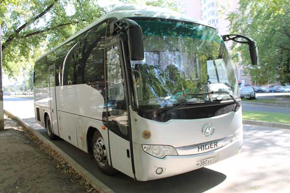 Mercedes Хайгер 35 мест